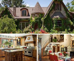 dreamy, fairytale, and house image
