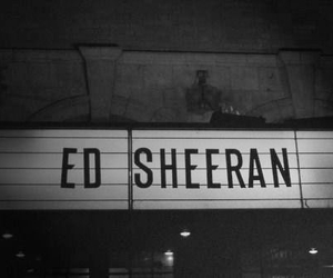 black and white, hipster, and ed sheeran image