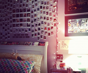 bedroom, hipster, and photos image