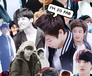 kpop, jungkook, and bts collage image