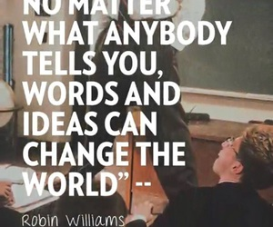 robin williams, ideas, and quotes image