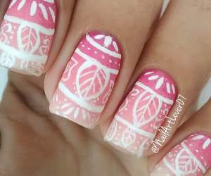 girly, gradient, and pink image
