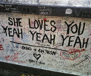 the beatles, grunge, and she loves you image