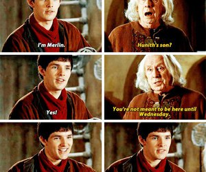merlin, quote, and wednesday image