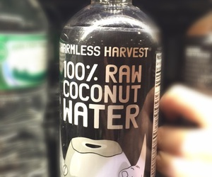 black, coconut, and cool image