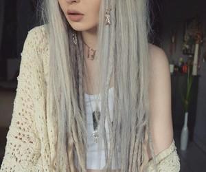 hair, dreadlocks, and dreads image
