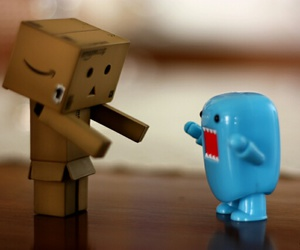 domo, cute, and danbo image