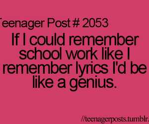 Lyrics, genius, and school image