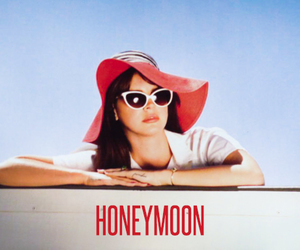 lana del rey, honeymoon, and retro image