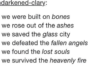 quotes, city of bones, and city of bones series image