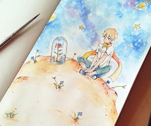 drawing and little prince image