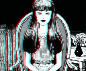 manga, tomie, and junji ito image