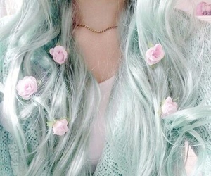 aesthetic, colored hair, and coloured hair image