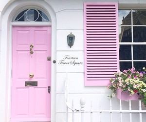 architecture, pink, and cute image