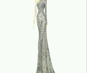 dress, elie saab, and fashion image