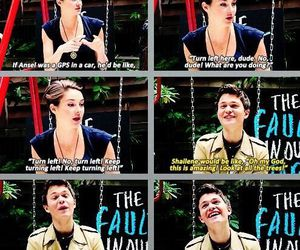 fandom, Shailene Woodley, and tfios image