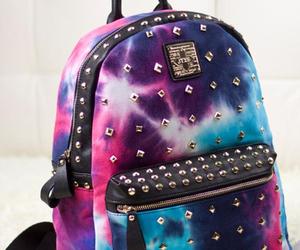 backpack, galaxy, and bag image