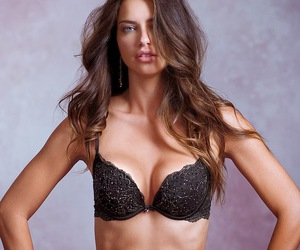 Adriana Lima, girl, and hairstyle image