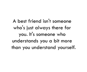 best friends, quote, and friendship image
