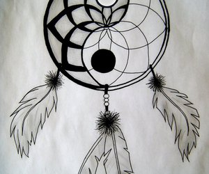Dream, dreamcatcher, and art image