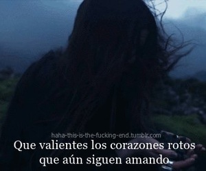 frase, triste, and roto image