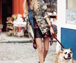 dog, model, and cara delevingne image