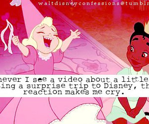 cry, disney, and happy image