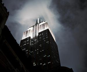 beautiful, clouds, and skyscraper image