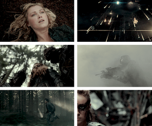sky people, the 100, and clarke griffin image
