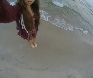 beach, fisheye, and holidays image