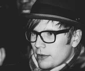 black and white, patrick stump, and fall out boy image
