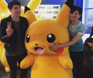danisnotonfire, phil lester, and dan howell image