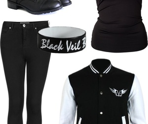 black, clothes, and jackets image