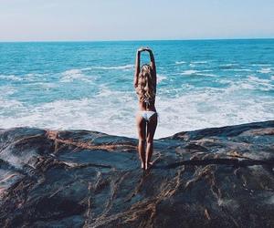 beautiful, bikini, and fit image