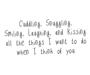 love, quotes, and cuddling image