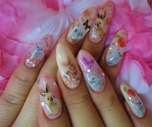 kawaii, cute, and nails image