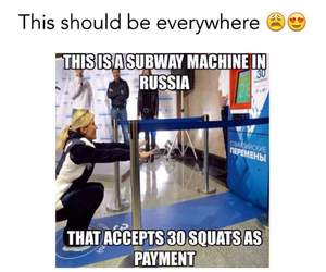 cool, fit, and russia image