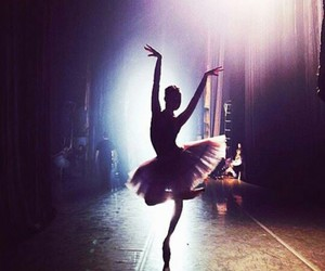 ballerina, tutu, and pointeshoes image