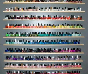 colour, girly, and nail polish image