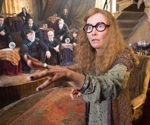 emma thompson, hogwarts, and sybill trelawney image