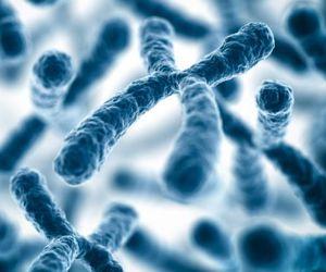 biology, blue, and DNA image