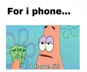 patrick, iphone6, and love image