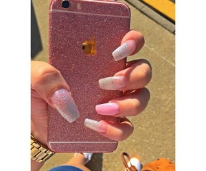 nails, apple, and beautiful image