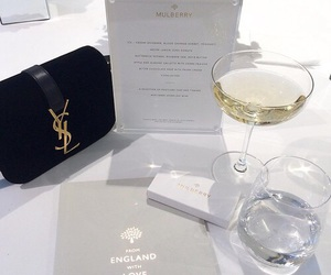 YSL, luxury, and drink image