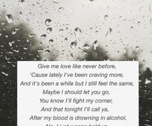 rain, give me love, and ed sheeran image