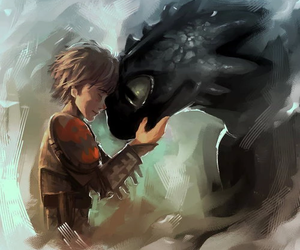 dragon, dreamworks, and toothless image