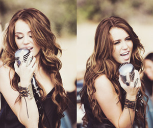 miley cyrus, party in the usa, and eyes image