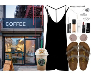 acessories, casual, and coffee image