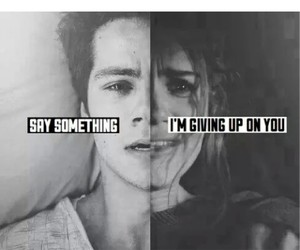 broken, I Love You, and teen wolf image