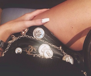 kylie jenner, chanel, and nails image